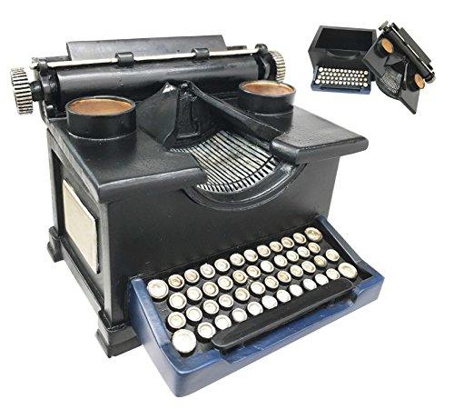 Old Fashioned Vintage Style Typewriter Collectible Jewelry Trinket Box Figurine For Desktop Decorative Birthday Memorabilia Gift (Typewriter Vintage compare prices)