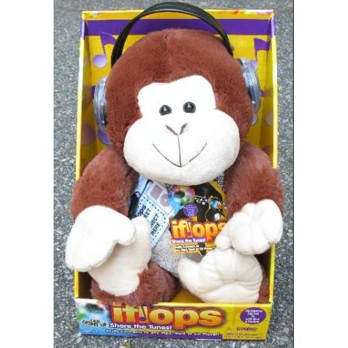 iflops Share the Tunes! MONKEY mp3 twin speaker system Toys & Games