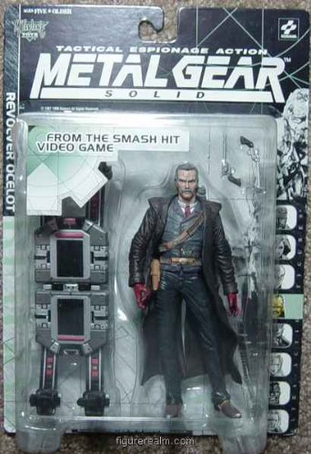 Picture of McFarlane Metal Gear Solid Revolver Ocelot Figure (B001DWJII4) (McFarlane Action Figures)