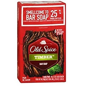 Old Spice Old Spice Timber Bar Soap