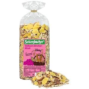 Seitenbacher Vollkorn Bircher Müsli, 3er Pack (3 x 1 kg)