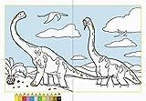 Malen nach Zahlen: Dinosaurier von Ravensburger Buchverlag