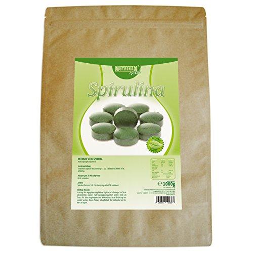 Nutrinax Vital Spirulina Pur 4000 Presslinge, 1er Pack (1 x 1 kg)