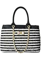 Betsey Johnson Womens Be My Bow Shopper Bag