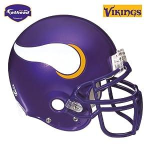 Fathead Minnesota Vikings Helmet Wall Decal by Fathead