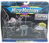 Star wars micro machines The Empire Strikes back (Tie starfighter, AT AT + SnowSpeeder)