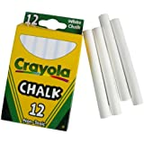 BIN510320 - Crayola Nontoxic Chalk - 12 Sticks per Box, Pack of 1 and Size: Single