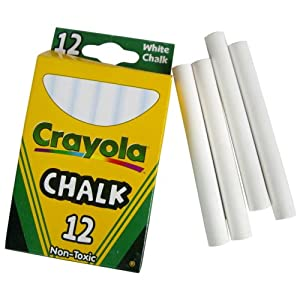 Crayola Llc 51-0320 12 Count White Chalk