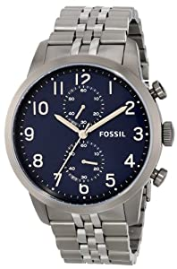 Fossil Men's FS4894 Townsman Analog Display Analog Quartz Grey Watch