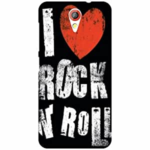HTC Desire 620G Back Cover - Rock And Roll Designer Cases