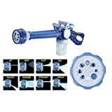EShop24x7 EZ Jet Water Cannon 8 In 1 Turbo Water Spray Gun For Gardening, Car Wash, Home Cleaning