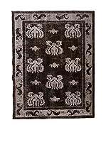 CarpeTrade Alfombra Deluxe Persian Vintage (Marrón/Gris)