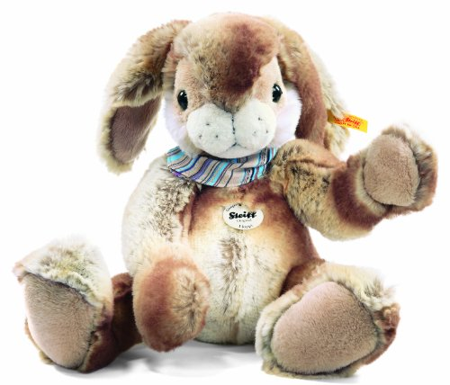 Steiff 122620 'Hoppi' Floppy Rabbit 35 cm Beige / Brown