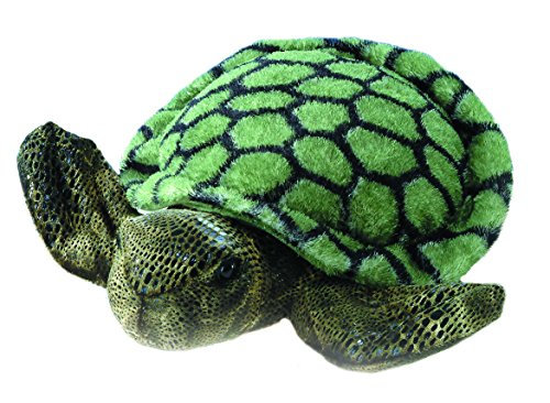 "Plush Splish Splash Sea Turtle Mini Flopsie 8"" - 1"