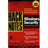HackNotes(tm) Windows Security Portable Reference ~ Michael O'Dea