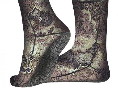 Cressi Metallite Camouflage Calzari in Neoprene Mimetico 3 mm, Multicolore, S