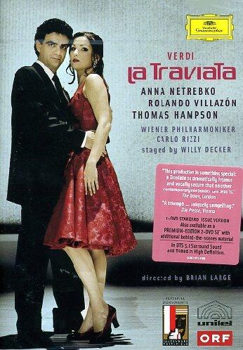 La Traviata (Netrebko, Villazon, Rizzi) -  Verdi - DVD