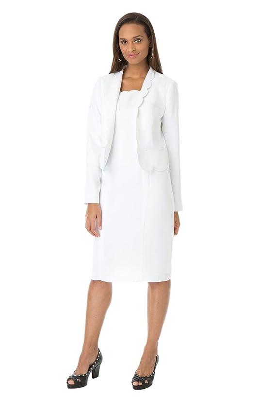 Jessica London Women's Plus Size Two-Piece Dress