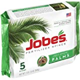 Jobe's 1010 Palm Tree Outdoor Fertilizer Food Spikes, 5-Pack
