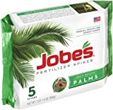 Jobe's 1010 Palm Tree Outdoor Fertilizer Food Spikes, 5-Pack