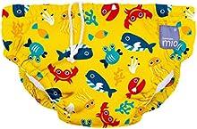 Comprar Bambino Mio - Bebé Nadada Pañal Mar Amarillo Profundo 7-9kg 6-12 meses, mediana
