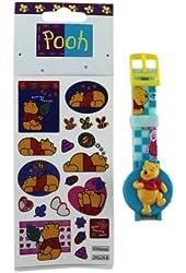 Winnie the Pooh Watch and Sticker Set - Winnie the Pooh Kids Watch