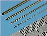 "Slide Fit Brass Tubes 0.4mm, 0.6mm, 0.8mm, 1.0mm (12"" Long) - SFT1"