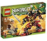 LEGO Lego Ninjago - Samurai Mech - 9448 9448 (Samurai X is on board the mighty Samurai Mech when she locates the Constrictai fang blade and approaches to claim it! Will the scout Snike and warrior Bytar stop it with a catapult ambush? Or will the Samurai
