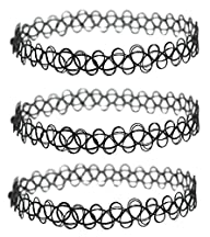 3 Pack – Henna Tattoo Choker Necklace…