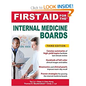 First Aid for the Internal Medicine Boards 3rd Edition PDF