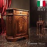 家具 おしゃれ 収納家具 サイドボード 幅80cm イタリア 家具 ヨーロピアン アンティーク風