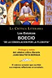 img - for Los Estoicos: Boecio: de La Consolacion Por La Filosofia. La Critica Literaria. Prologado y Anotado Por Juan B. Bergua. (Spanish Edition) book / textbook / text book