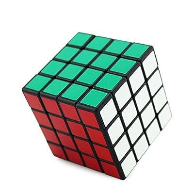 Shengshou 4x4x4 Puzzle Cube Black (4*4*4(Speed), Black)
