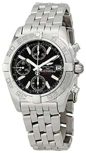 Breitling Men's A13358L2/B948 Chrono Galactic Black Dial Watch