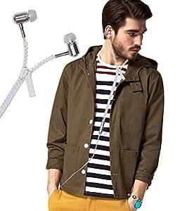 Zipper Style 3.5mm In Ear Bud Earphones Headset Handsfree Compatible For Intex Cloud Trend -White