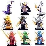 9pcs/lot Minifigure Ninjago Lloyd Sky...
