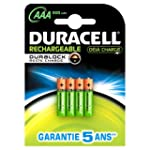 Duracell - Pile Rechargeable - 800 mA...