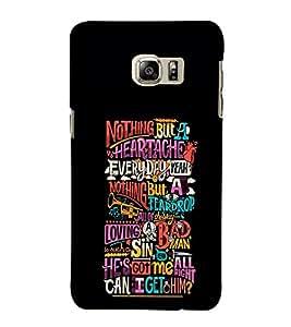 EPICCASE love hurts Mobile Back Case Cover For Samsung Galaxy Note 5 Edge (Designer Case)