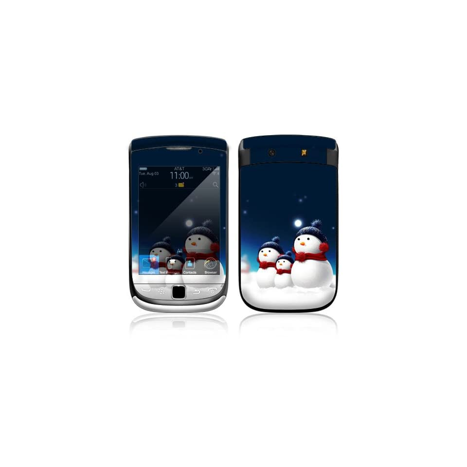 Blue Star Decorative Skin Cover Decal Sticker for BlackBerry Torch 9800 Slider Cell Phone