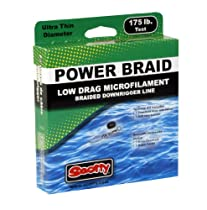 Scotty Low Drag Premium Braided Downrigger Line 500-Foot Spool