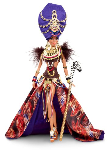 Tribal-Beauty-Barbie-Doll-Direct-Exclusive-Gold-Label-Global-Glamour-Collection-japan-import
