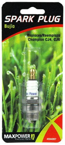 Maxpower 334057 Spark Plug For Chain Saws And Trimmers Replaces Ngk Bm7A Champion Cj4, Cj6 Autolite 254
