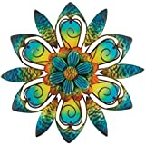 Regal Art and Gift Flower Wall Decor, Blue, 9-Inch