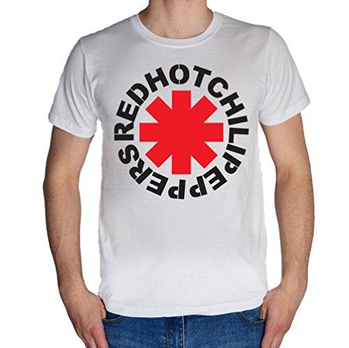 Red Hot Chili peppers logo Uomo T-Shirt Medium