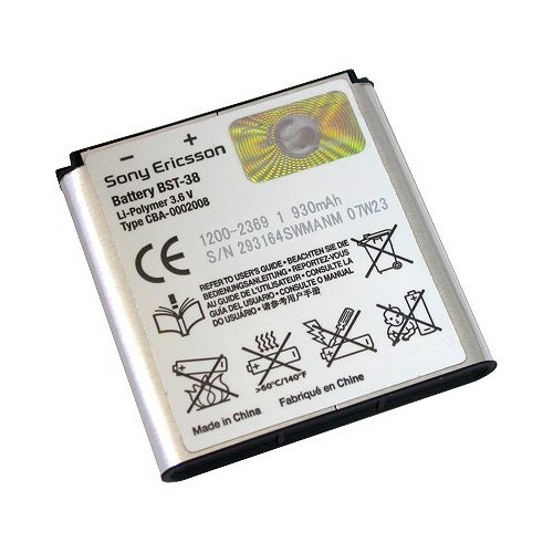 Sony Ericsson Original li-Poly Battery for Sony Ericsson C510, C902, C905a, K850i, W580i, W760a, W995a, T303