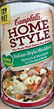 Campbell39s Homestyle Healthy Request Italian-Style Wedding Spinach amp Meatballs in Chicken Broth S