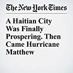 A Haitian City Was Finally Prospering. Then Came Hurricane Matthew | Azam Ahmed