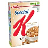 Special K Cereal, Vanilla Almond, 14-Ounce Boxes (Pack Of 4)