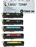 5PK Toner Tap (TM) Compatible for HP 131A 131X CF210X CF210A CF211A CF212A CF213A Toner Cartridge For Use In HP Color LaserJet Pro200 M251NW M276NW Laser Printers