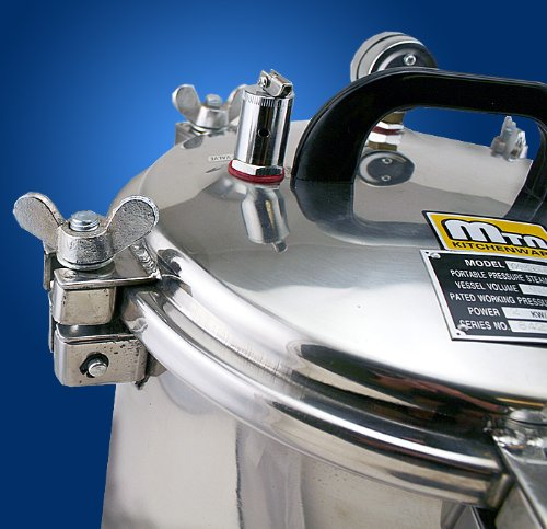 Portable 12L Autoclave High Pressure Steam Sterilizer (Besr Seller) 51I8An4x9aL